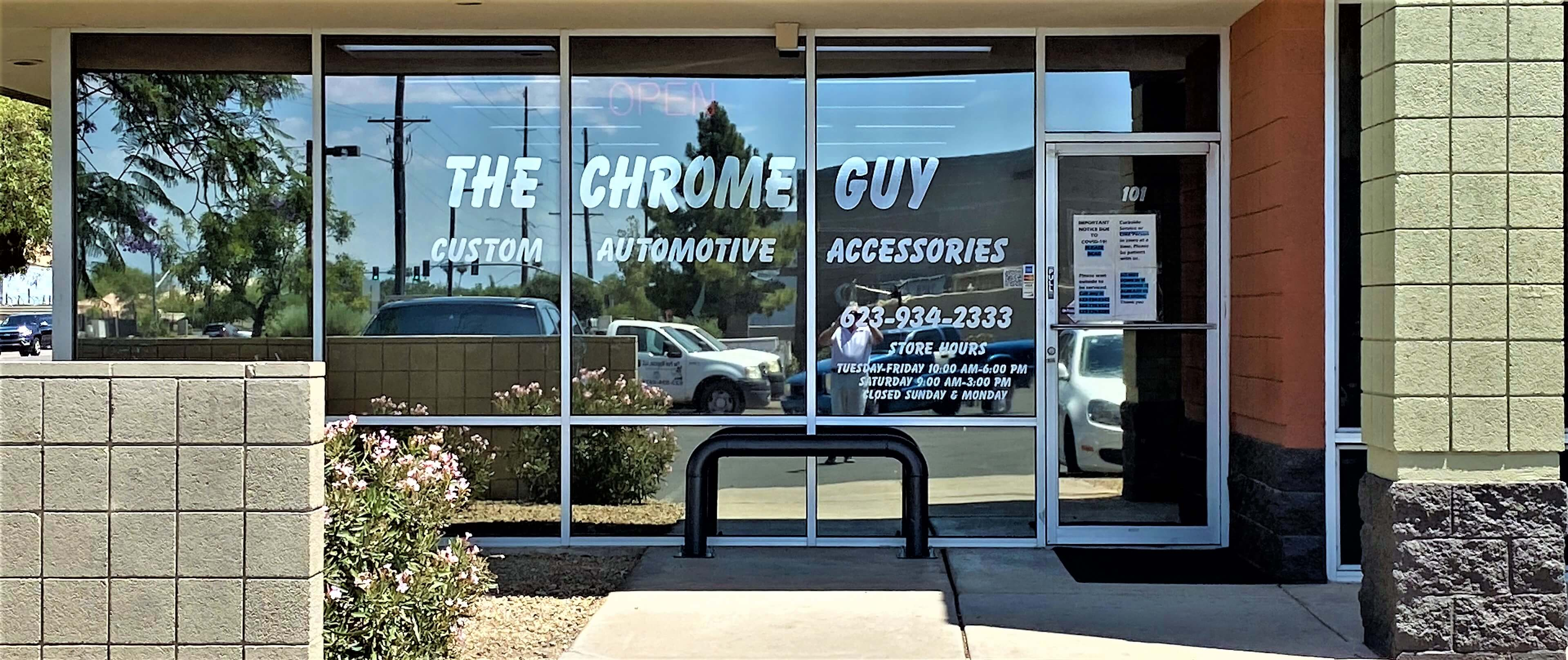 The Chrome Guy in Phoenix, AZ